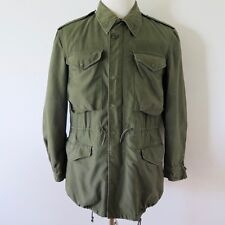 VINTAGE ORIGINAL US ARMY JACKET SHELL FIELD M-1951 M51 SMALL REGULAR CONMAR