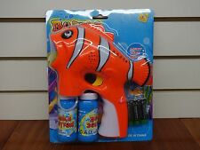 Clown Fish Bubble Gun With LIGHTS and MUSIC