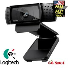 Logitech Full HD Pro Video Streaming Recording Webcam 15MP 60Fps 1080P Camera