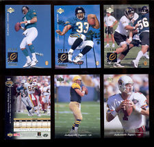1995 UD Jacksonville Jaguars Set TONY BOSELLI MARK BRUNELL DESMOND HOWARD COBB