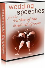 WEDDING SPEECHES For The Father Of The Bride - 10 Ready Made Speeches (CD-ROM)
