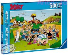 THE VILLAGE ASTERIX ET SON VILLAGE 14197 NEW 500PCS RAVENSBURGER PUZZLE 49X36CM