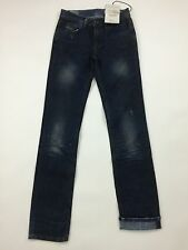 RPP 210€ Diesel Women's Faithlegg Straight 0804D Jeans W25 L34 Color Blue