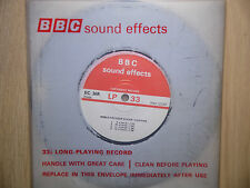 "BBC Sound Effects 7"" Record, Caius Clock Cambridge University, Keble, Oxford"