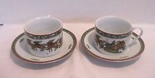 Trisa Christmas Memories cups and Saucers Set of 2