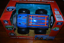 NEW Wireless RC Action Remote Control Radio Kids Land Water Rover Blue Truck