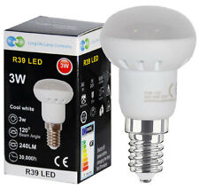 3w R39 LED E14 Replacement for Reflector Cool White LED Light Bulb Energy saving