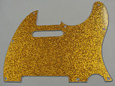 D'ANDREA PRO TELECASTER PICKGUARD 8 HOLE GOLD SPARKLE MADE IN THE USA