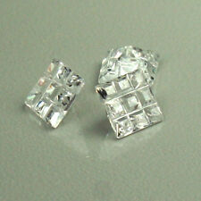 3 pieces perfect Loose Cubic Zirconia Square Invisible AAA quality 6x6mm