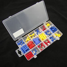 160Pcs Assorted Heat Shrink Terminal Wiring Connector Spade Bullet Terminals Kit