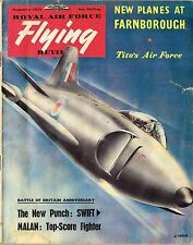 RAF FLYING REVIEW SEP 53 FACSIMILE: SWIFT F.4/ VICTOR B.1/ GLIDING/ PINUP