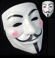 ANONYMOUS HACKER V FOR VENDETTA GUY FAWKES KOSTÜM HALLOWEEN GESICHTSMASKE