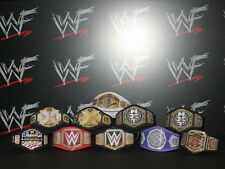 10 x Custom WWF WWE NXT Title Belts For Hasbro Mattel Wrestling Figures Jakks