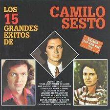 CD NEW/Sealed Camilo Sesto , Los 15 Grandes Exitos De