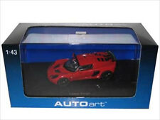 2005 LOTUS EXIGE MKII RED 1/43 DIECAST MODEL CAR BY AUTOART 55354