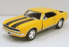 "Kinsmart 1967 Chevy Camaro Z/28 1:37 scale 5"" diecast metal model car Yellow K84"