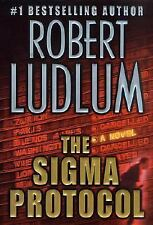The Sigma Protocol by Robert Ludlum (2001, Hardcover,First Edition ) *****