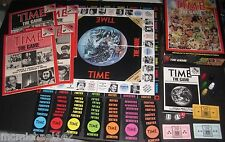 VINTAGE 1983 TIME MAGAZINE THE GAME COMPLETE TRIVIA BOARD GAME