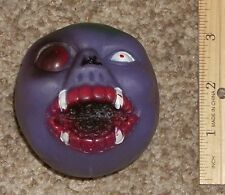 Vintage 1980's Crazy Ball KO Freak Similar To Madballs Toy Taiwan Monster Head