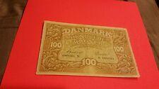 1943 Demark 100 Kroner XF