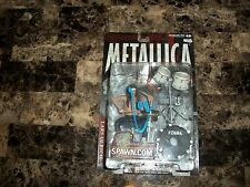 Lars Ulrich Rare Hand Signed Action Figure Todd McFarlane Metallica 2013 Orion