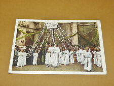 PHOTO CHOCOLAT COTE D'OR 1940 FOLKLORE BELGIQUE N°20 HUY HOEI FETES MARIALES