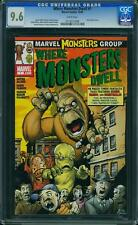 Where Monsters dwell #1 us Marvel 2005 Giffen Peter David cgc 9.6 nm +