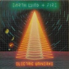 EARTH WIND & FIRE 'ELECTRIC UNIVERSE' US IMPORT LP