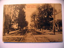 Chestnut Street Looking North in Derry PA 1910