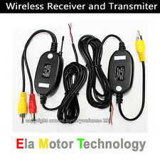 2.4Ghz Wireless Transmitter and Receiver for Backup Reverse Camera Video signal
