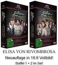 Elisa von Rivombrosa Staffel 1 + 2 Set (di) Neuauflage in 16:9, 18 DVD NEU + OVP