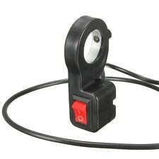 7/8 ''Universel 12V Guidon Switch Phare ON-OFF Button Interrupteur Moto Scooter