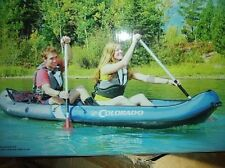 sevylor colorado 2 person inflatable boat canoe