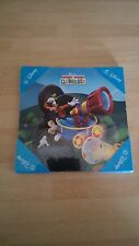DISNEY MICKEY MOUSE WOODEN WALL PLAQUE (1) 15cm x 15cm NEW SEALED