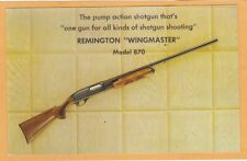Advertising Postcard - Remington Wingmaster Model 870 Shotgun