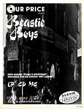 Beastie Boys : Pauls Boutique Advert 11x8 (Our Price)