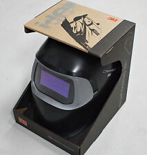 NEW IMPROVED 3M Speedglas 100 Black Welding Helmet with Auto-Darkening SWEDEN