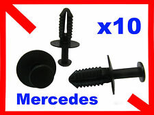 10 7mm Hole Plastic Rivet Trim Panel Retainer Mercedes benz Clips 20K