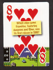 Dragon Quest Video Game Neat Playing Card #6Y8