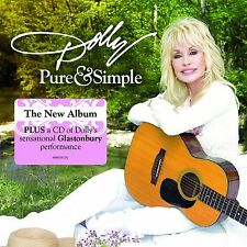 DOLLY PARTON - PURE AND SIMPLE: CD ALBUM + BONUS LIVE CD (August 19th 2016)