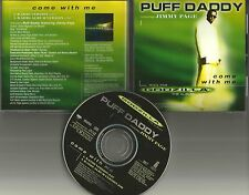 PUFF DADDY w/ JIMMY PAGE Come with me 2RARE TRX PROMO DJ CD Single Led Zeppelin