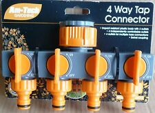 Nueva marca Am-Tech 4 vías Tap conector
