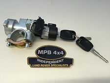 LAND ROVER DISCOVERY 2 TD5 V8 98-04 IGNITION BARREL LOCK & TWO KEYS NONE REMOTE