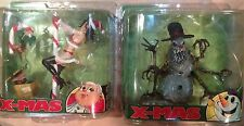 McFarlane Spawn Twisted X-Mas : MRS. CLAUS and SNOWMAN walking dead