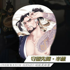 Overwatch OW HANZO Sexy Hot Anime Game Cosplay Mouse Mat Gaming Mouse Pad Gift