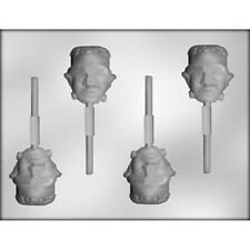 Frankenstein Lollypop  Sucker Chocolate Candy Mold  Halloween Monster