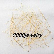 1000Pcs Gold Copper Ball Head Pins 50mm S-62