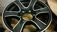 15 X 6 ALUMINUM 6 LUG STAR TRAILER / RV WHEEL -TRAILER CITY DIRECT LOW $