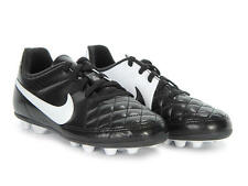 Nike Outdoor Soccer Cleats Jr. Tiempo Rio II Black/White  Childs Size 11