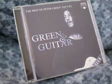 "PETER GREEN CD HTF "" THE BEST OF PETER GREEN 1977-81""  ""GREEN & GUITAR"" 1996"